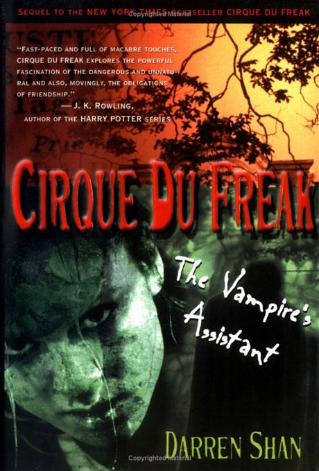 cirque du freak by darren shan essay